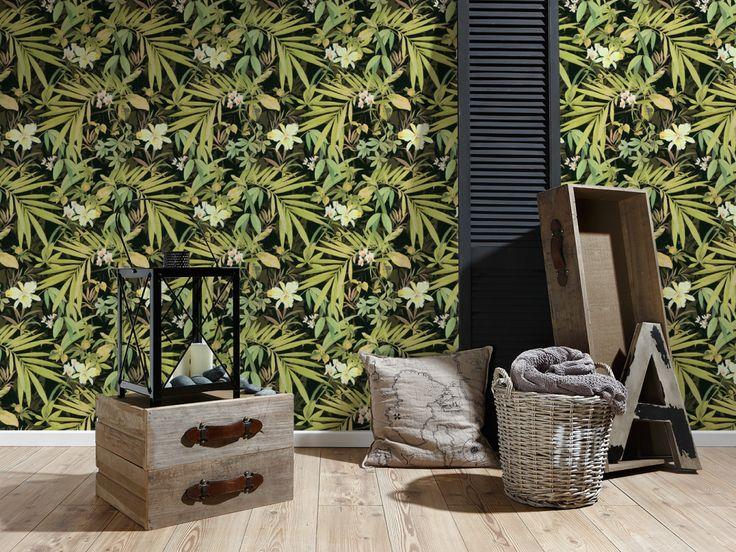 15 best Wände images on Pinterest Wall paintings, Murals and Wall - wohnzimmer tapeten braun beige