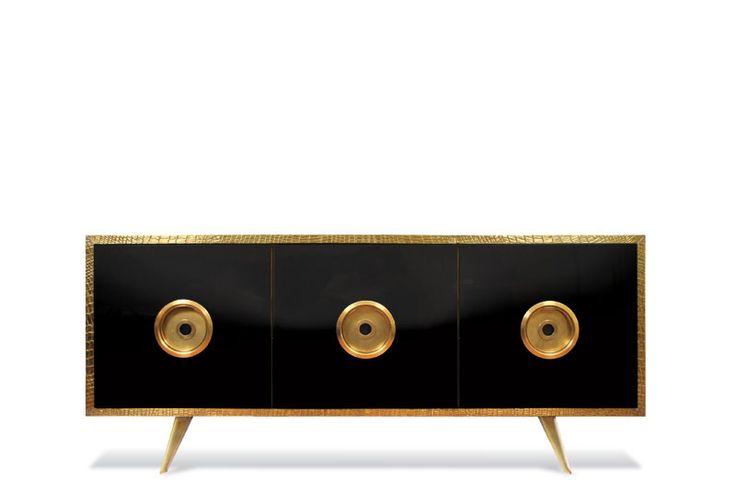 Modern sideboard ideas   Stunning sideboard from Scala Luxury www.bocadolobo.com #modernsideboard #sideboardideas