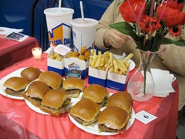 White Castle Valentine's Day Reservations!