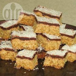 Chocolade-kokosnoot Weetabix repen @ allrecipes.nl