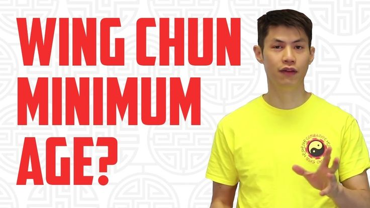 Appropriate Age For Learning Wing Chun