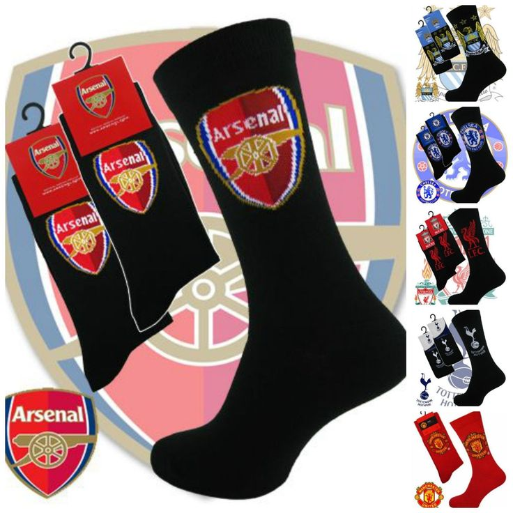 Mens boys novelty football team socks fc #footy #stocking #filler gift 6-11,  View more on the LINK: 	http://www.zeppy.io/product/gb/2/201659124346/