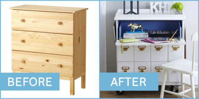 The 25 Coolest Hacks for All Your Favorite IKEA Products  - HouseBeautiful.com