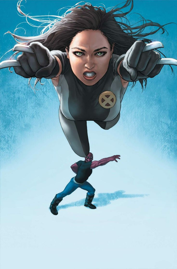 Fastball Special, X-23 edition.