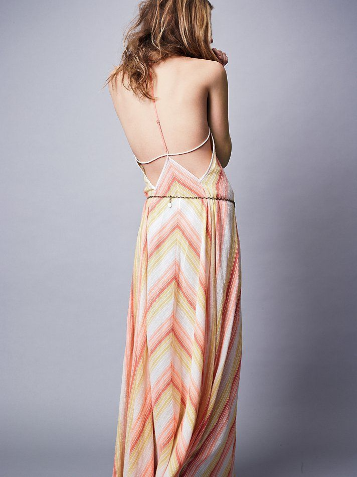 Free People Atlantis Chevron Dress, $98.00  again, love this but has to be much less expensive!