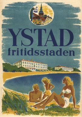 Ystad (Sweden) - fritidsstaden, E. Mardell