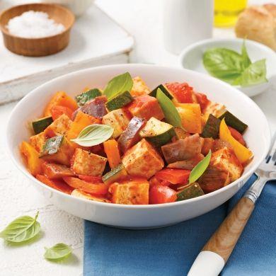 Ratatouille-repas - Recettes - Cuisine et nutrition - Pratico Pratique