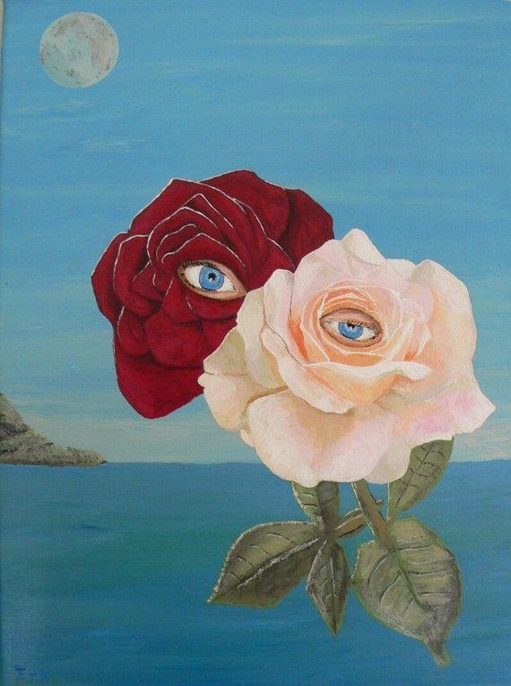 The Lovers roses  Eric Kempson by ellenisworkshop on Etsy