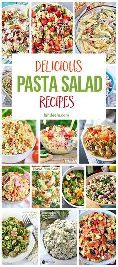 The BEST Pasta Salad Recipe Collection | Best Pasta Salad, Pasta Salad ...