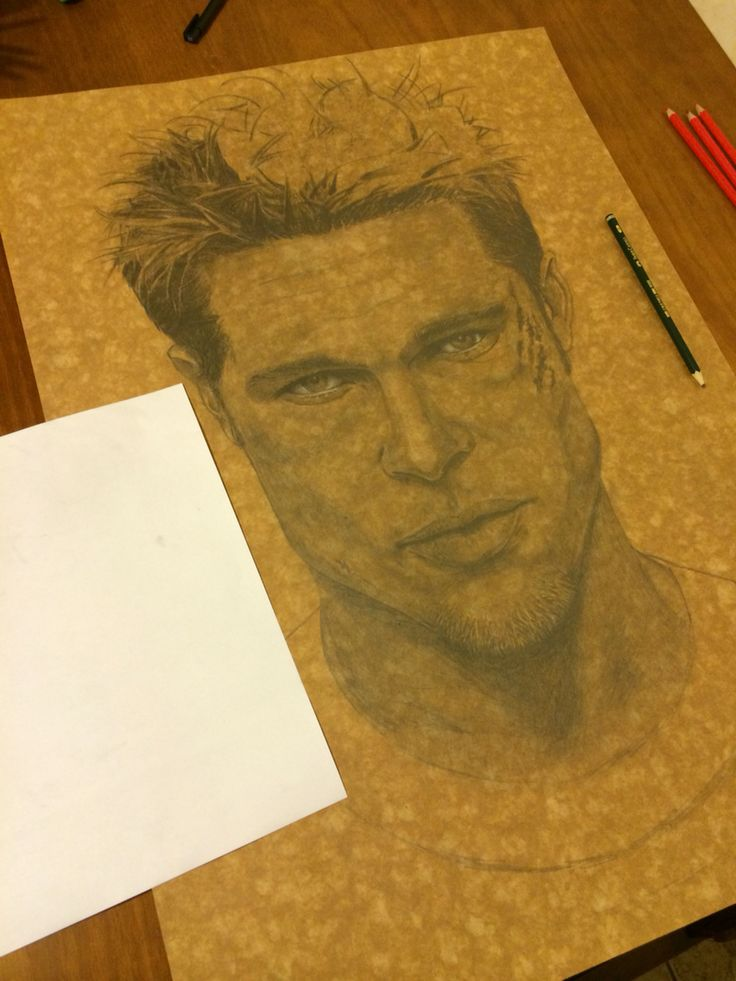 Making of Brad Pitt. By Eliude A Santos