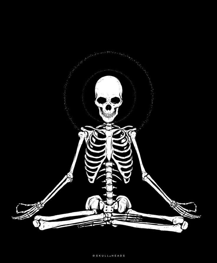 Живая картинка скелета
