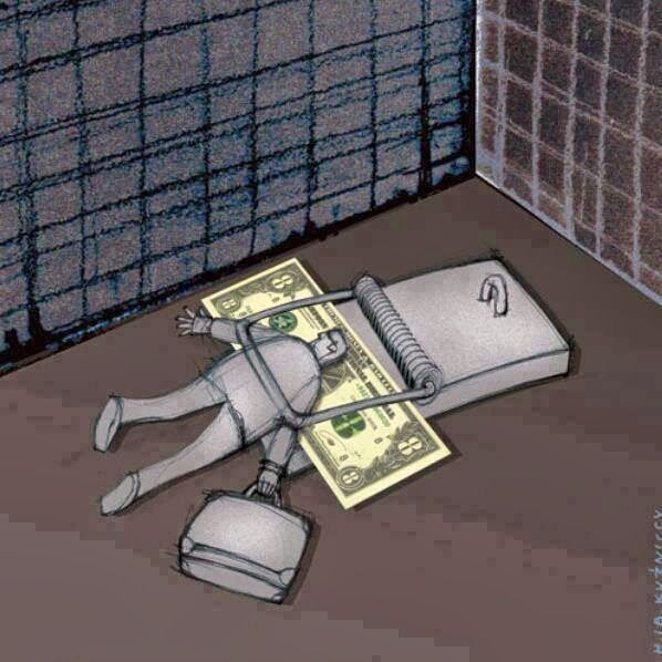 because money