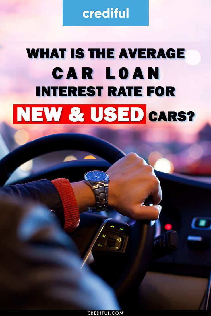 What Is The Average Car Loan Interest Rate For New Used Cars Car Loans Loan Interest Rates Money Making Hacks