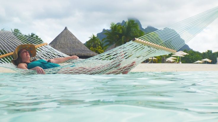 No wonder why Kensington's Louise Baer loves designing trips to Tahiti & Bora Bora!