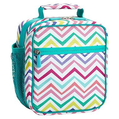 Gear-Up Multi Chevron Classic Lunch With Mesh Side Pocket #pbteen
