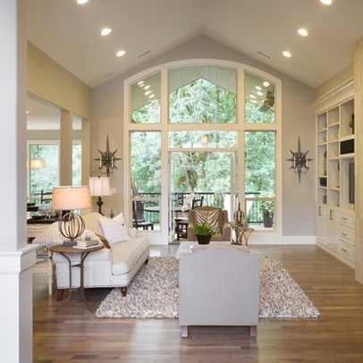 Recessed Lights Vaulted Ceiling Design Pinterest