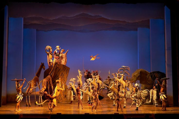 Things to do in London, the Lion King musical, via Year of the Yes