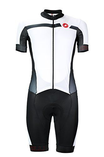 Castelli Mens Velocissimo Sanremo Cycling Suit Large White ** Want additional info? Click on the image.