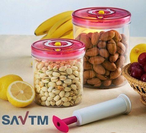 Pojemniki próżniowe + pompka firmy Savtm
