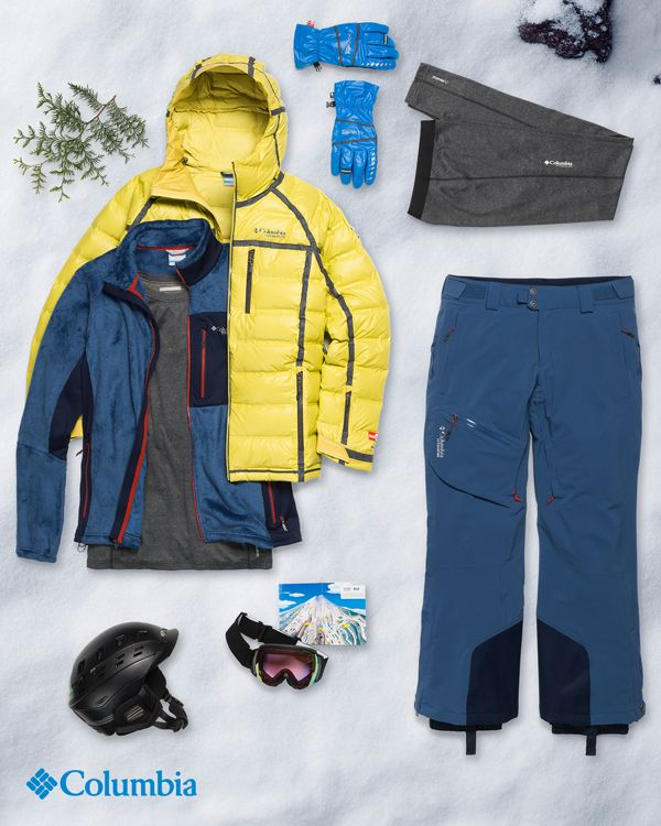 What's tougher than winter? Faking that you like a gift you'll never wear. Suggest Columbia ski and snow gear. If you pass along these subtle hints, you'll both be getting warmer this year.