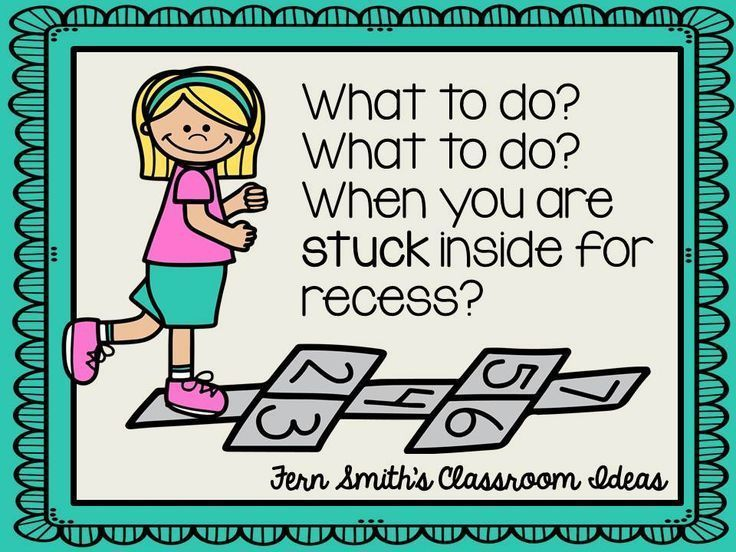 21 best indoor recess images on pinterest game indoor recess fern smiths classroom ideas tuesday teacher tips stuck inside for recess what to do malvernweather Gallery