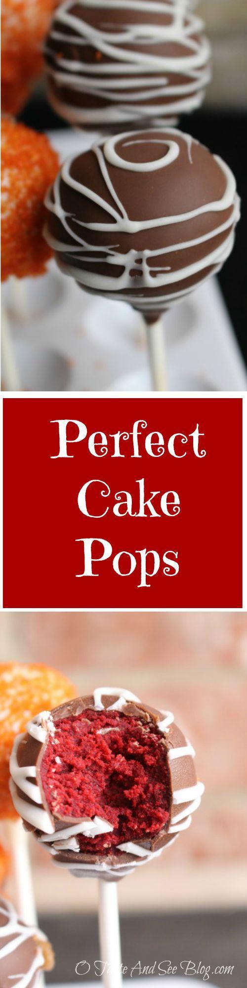10 Geheimnisse für die perfekten Cake Pops – O Taste and See   – Food!