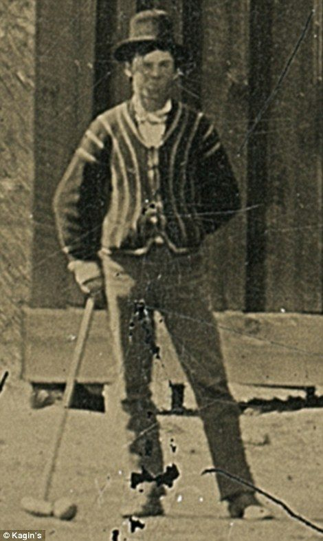 New photo shows Billy the Kid playing croquet with his ...