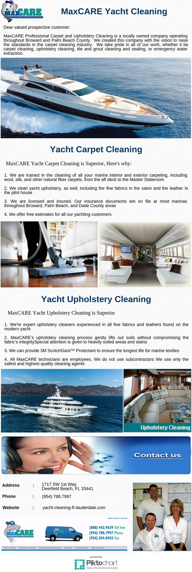 Maxcare professional carpet and upholstery cleaning is a locally owned company operating throughout broward and palm