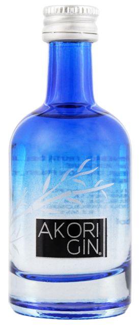 Akori premium Gin miniatuur 0,05L 42% online kopen in Nederland