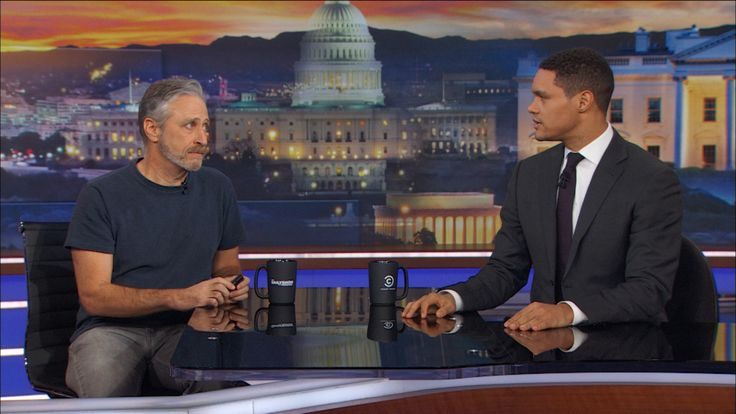 "Bernie Bernstein (Aka Jon Stewart) Crashes The Daily Show | Jon Stewart drops in to talk about ""Night of Too Many Stars,"" where Trevor will auction off the chance to be interviewed on the set of The Daily Show."
