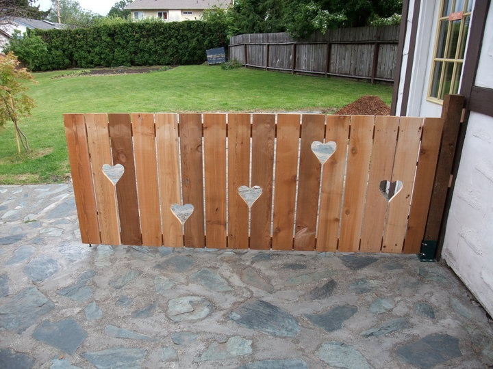 a very loveable fence