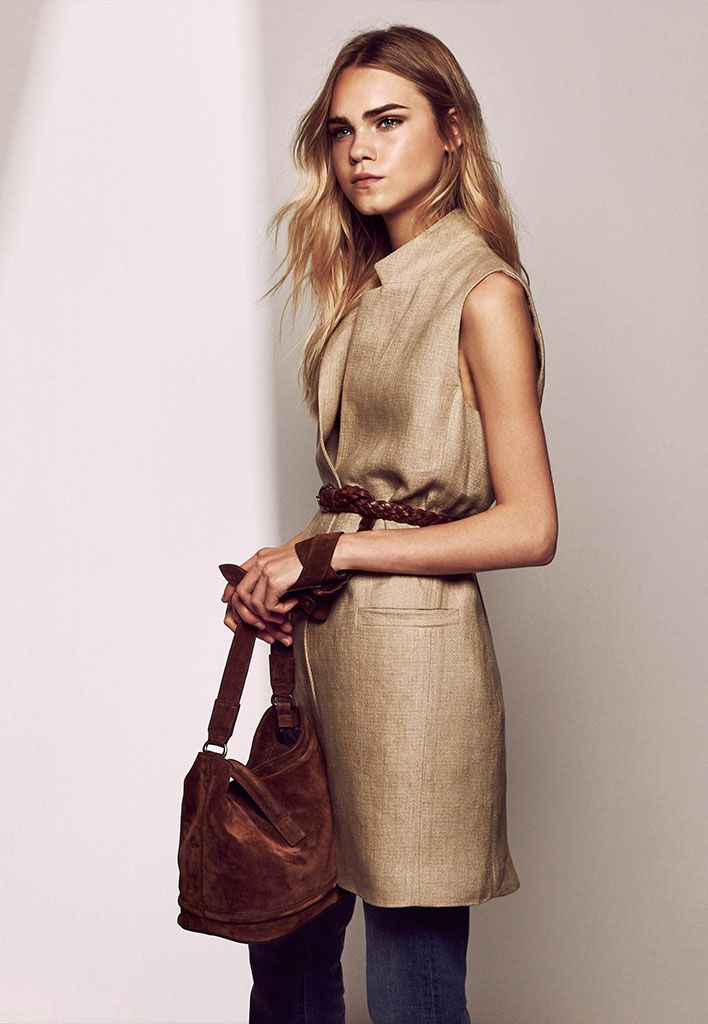 Massimo Dutti - Women Pre-Fall - LOOKBOOK - starring  Line Brems