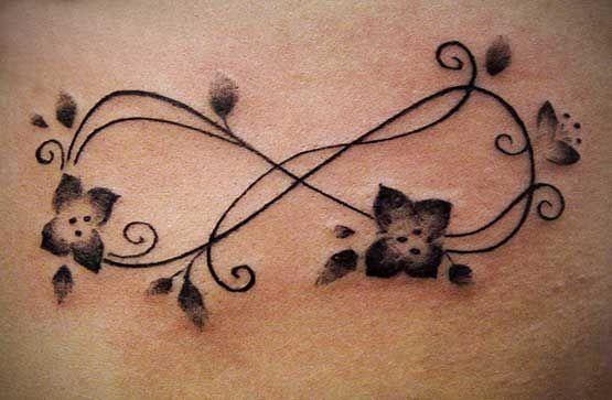 Tummy scar tattoo
