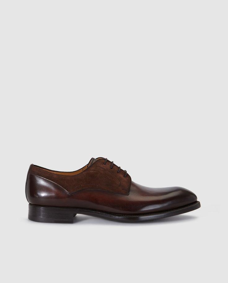Zapatos de vestir de hombre Magnanni en piel de color marrón · Magnanni · Moda · El Corte Inglés