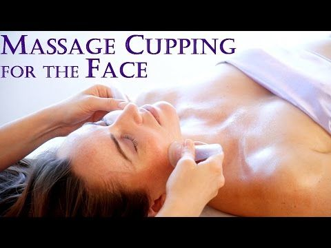Massage Cupping for Beautiful Skin! Techniques for the Face, Skin Care Routine, DIY Secrets - YouTube
