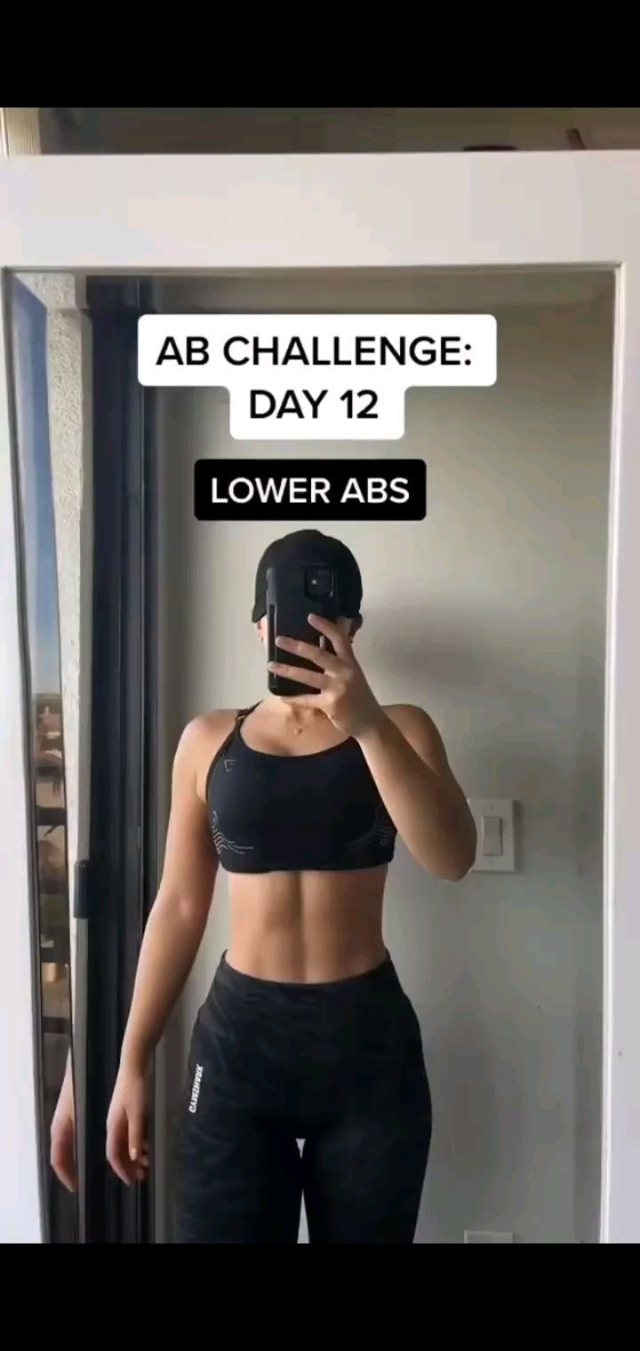 Salud Y Fitness On Instagram Reto Abdomen Dia 12 Por Nonabayat Comenta Cual Es Tu Ejercicio Favorito De Abdomen Si De In 2021 Lower Abs Ab Challenge Workout
