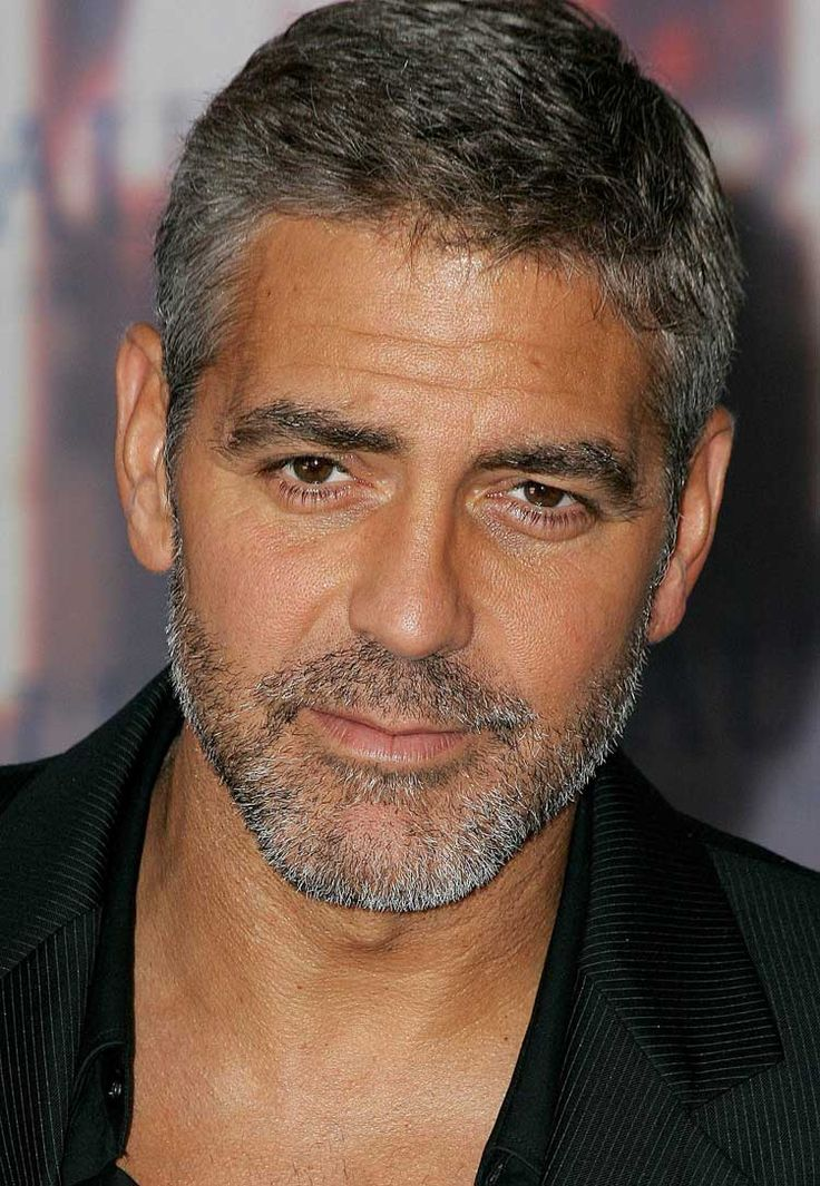 George Clooney Beard George Clooney It S Not Much Of A