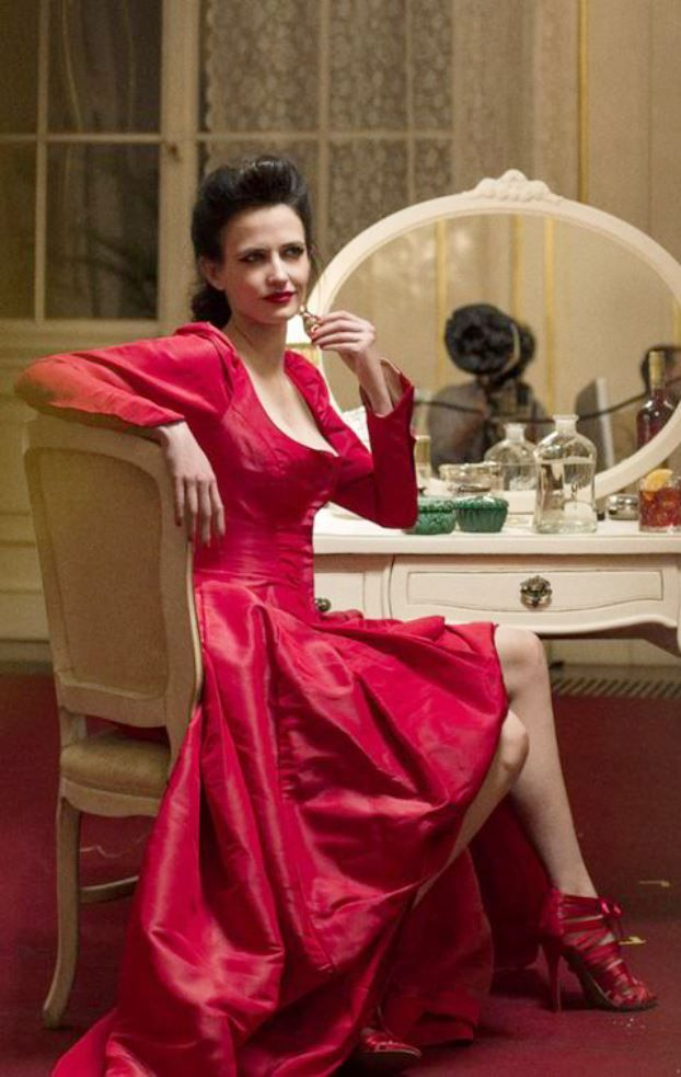 Eva Green | behind the scene of Campari 2015 calendar shoot