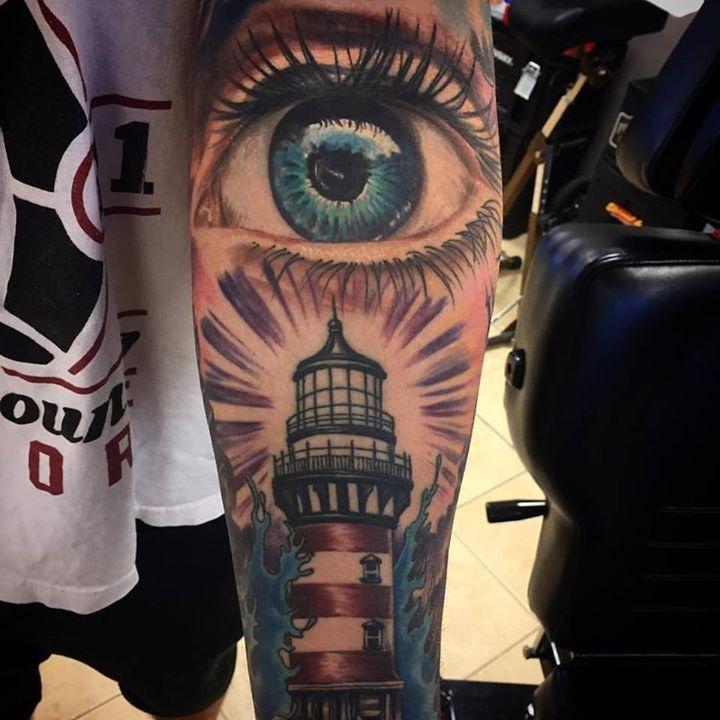 Healed Tattoo by @jondavistattoo from Vessel Tattoo Company ...
