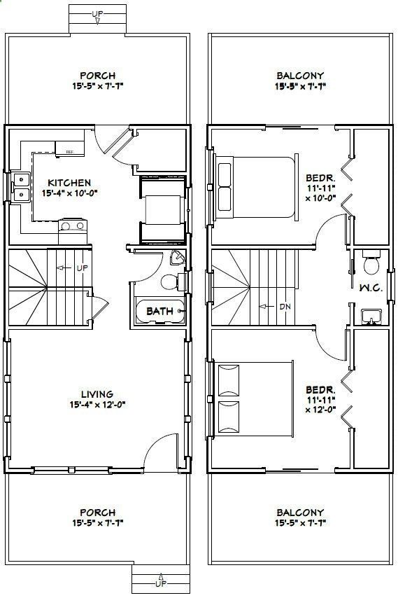 11 Best 16 X40 Cabin Floor Plans Images On Pinterest