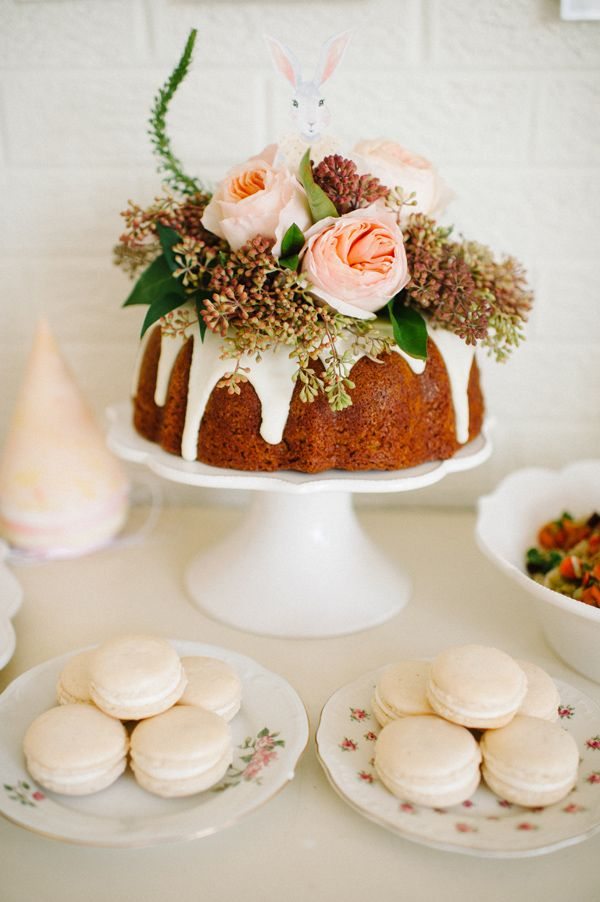 My baby girl is one » Michele Hart Photography First Birthday Party, Garden Bunny Theme