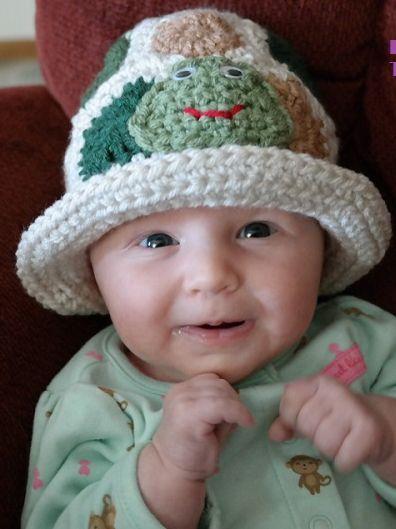 140 best Crochet Baby Hat Patterns images on Pinterest   Crochet ...