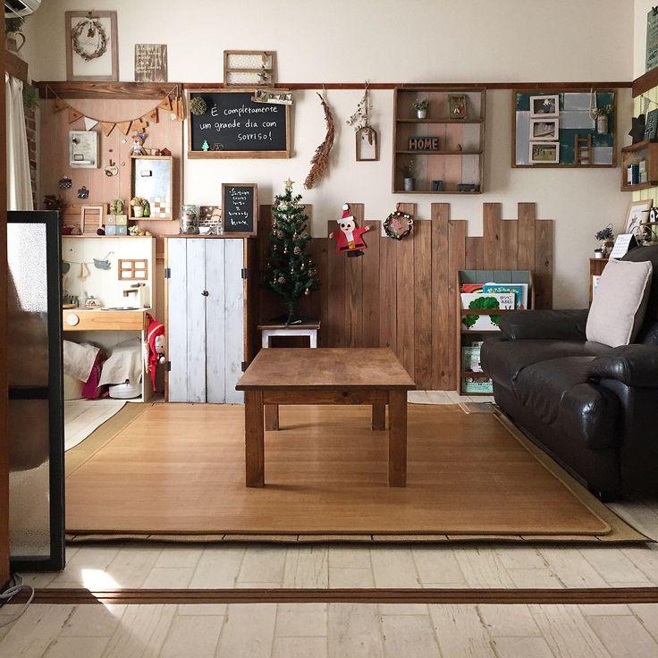 和室を洋室に!/インスタnaturalwoodstyle…などのインテリア実例 ... 前の部屋写真