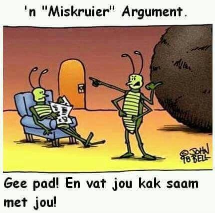 N Miskruier argument