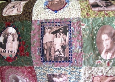 Mom & Dad's Family Quilt