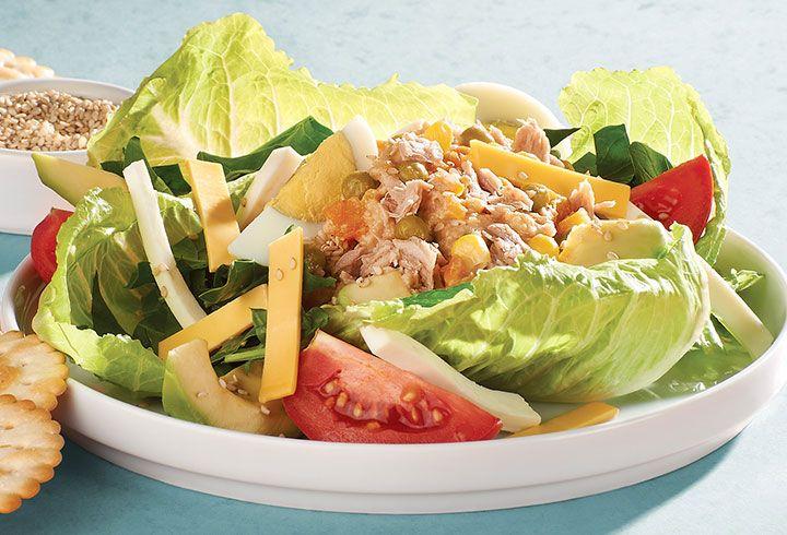 Si tu meta es bajar de peso, las ensaladas verdes con atún no pueden faltar. Prepárate para ver resultados favorables con esta receta de atún.