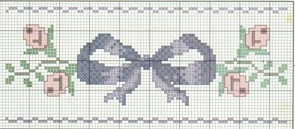 brodeuse - embroiderer - noeud - point de croix - cross stitch - Blog : http://broderiemimie44.canalblog.com/