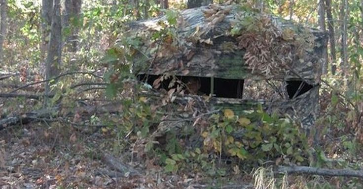 5 Useful Blind Hunting Tactics for Deer http://www.wideopenspaces.com/5-useful-blind-hunting-tactics-deer/