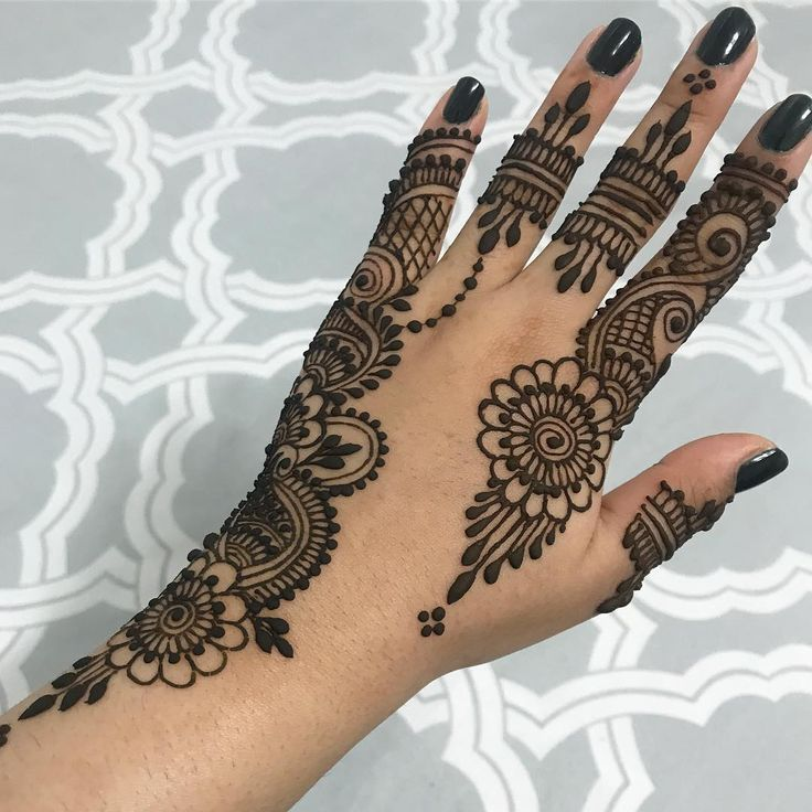 Simple Henna Bridal With Images Henna Designs Hand Henna