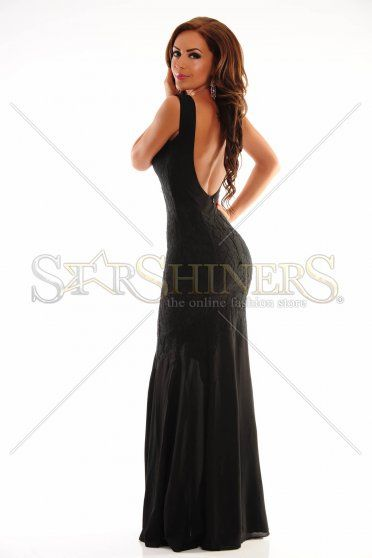 LaDonna Dreamlike Star Black Dress